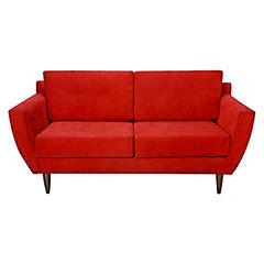 Sofá Elba 2 cuerpos 170x81x73 cm rojo