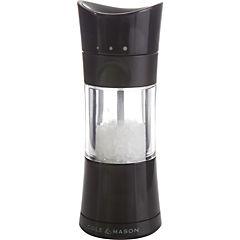 Molinillo sal acero inoxidable negro