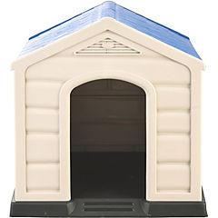 Casa para perros 92x90x89 cm azul