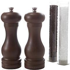Set de molinillos 17 cm madera