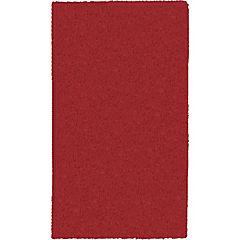 Alfombra Yagan 60x100 cm rojo