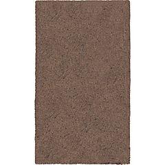 Alfombra Yagan 60x100 cm chocolate