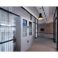 Estante Storage media puerta de vidrio