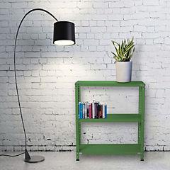 Estantería verde 3 bandejas 90x50x100 cm