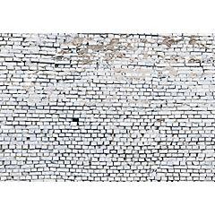 Fotomural Ladrillo Blanco 368x254 cm