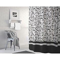 Cortina de baño Bonjour poliéster 180x180 cm