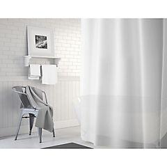 Forro para cortina baño PVC translúcida 180x180 cm