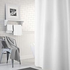 Forro para cortina baño PVC blanco 180x180 cm