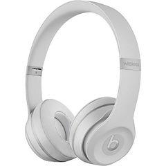 Audífonos On-Ear bluetooth plata mate