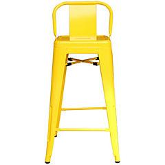 Silla bar 41x41x85 cm amarilla