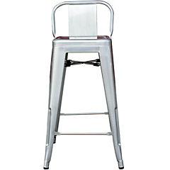 Silla bar 41x41x85 cm galvanizado