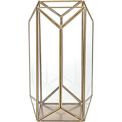 Huracán geométrico metal 33 cm Oro