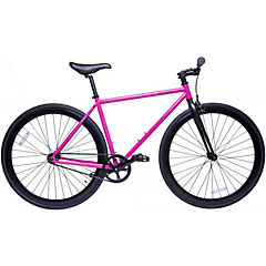Bicicleta urbana 28 rosa profundo M