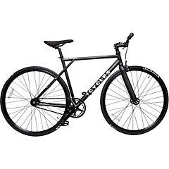Bicicleta mensajera aro 28 liviana negra L