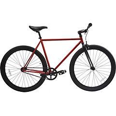 Bicicleta urbana 28 rojo cobrizo matte L