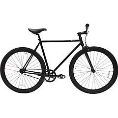Bicicleta urbana 28 negro matte XL