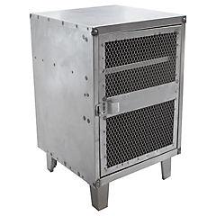 Velador lockers industrial 1 cuerpo 1 puerta malla