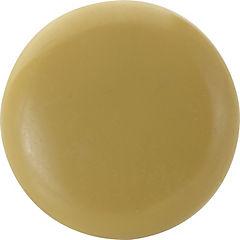 Perilla plástico 38mm beige