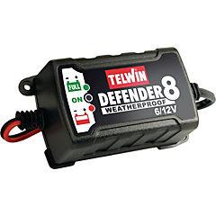 Cargador de baterías automático portátil, monofásico, 6/12v; 0,75a