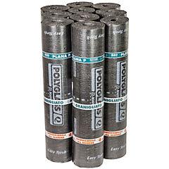 Pack membrana asfáltica mineral 4,5 kg/m2 gris 1x10 m