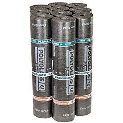 Pack membrana asfáltica mineral 4,0 kg/m2 gris 1x10 m