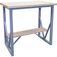 Mesa de bar 100x60x105 cm albayalde