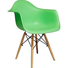 Silla Basel 63x56x81 cm verde