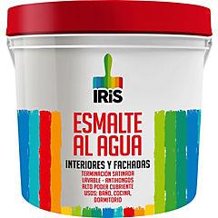 Esmalte al agua iris azul pqte vela 1/4 gl