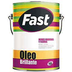 Oleo brillante fast negro 1 gl