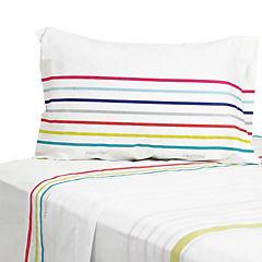 Juego de sábanas 180 hilos multicolor 1,5 plaza