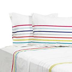 Juego de sábanas 180 hilos multicolor 2 plazas