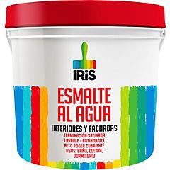 Esmalte al agua blanco 4 gl plast