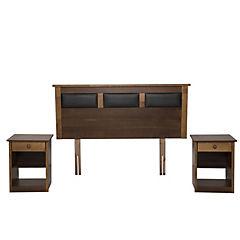 Set de maderas 2 plazas