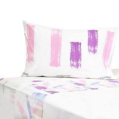 Juego de sábanas 180 hilos pink 1,5 plaza