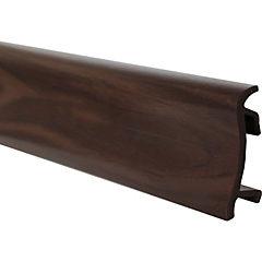 Guarda polvo dv75 2,5mx75mm roble