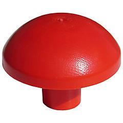 Tapon seguridad rojo 500 un