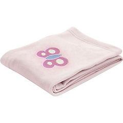 Cobertor Polar Flor rosado 127x91 cm