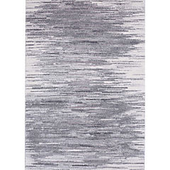 Alfombra Joint Rayas Gris 133X190 cm