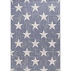 Alfombra Ideal Estrellas Azul 160X230 cm