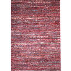 Alfombra Sari Rayas Rojo 133X190 cm