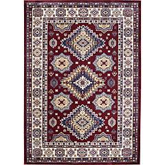 Alfombra Kazak III Claret Red 160X240 cm