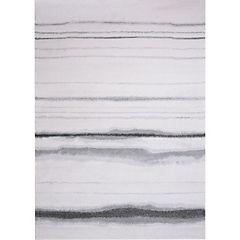 Alfombra Jagger Líneas Gris 160x230 cm