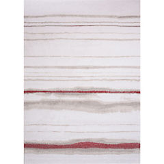 Alfombra Jagger Líneas Roja 140x200 cm
