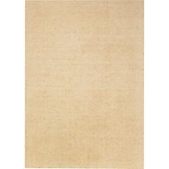 Alfombra Wool Lisa Beige 190x240 cm