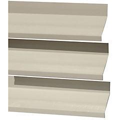 Quiebra vista PVC 80mm x 6m beige