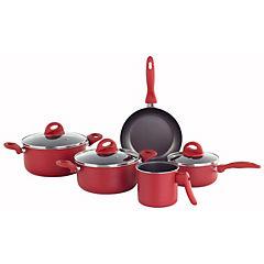 Batería de Cocina 8 piezas Malagueta cereza