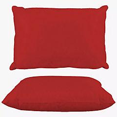 Almohada 144 hilos americana rojo italiano