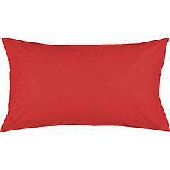 Almohada poly algodón single rojo italiano