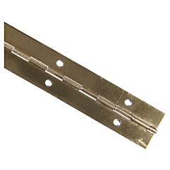 Bisagra de piano 32 mm Bronce