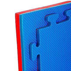 Planchas deportivas eva para pisos tatami rojo/azul 2cm